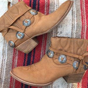 Dolce Vita Ankle Cowboy Boots